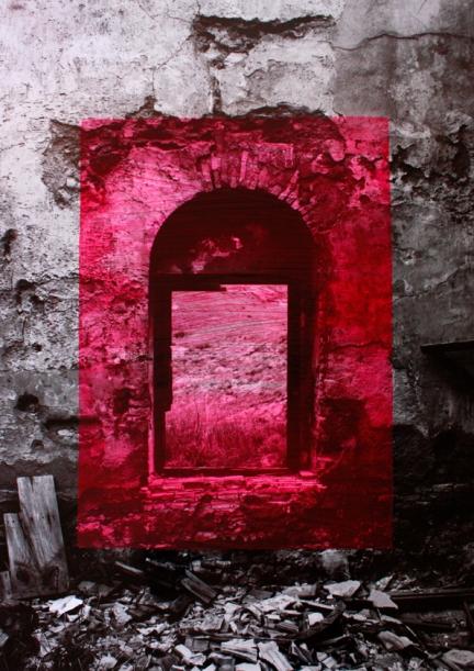 Ruina-33 Fotografía digital y acrílico nº 33 2014